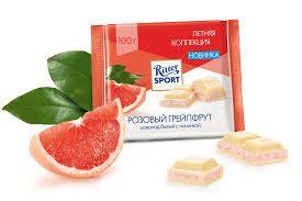 "Шок. ""РС"" молочный розовый грепфрут 100гр"