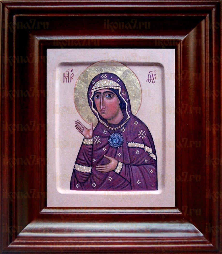 Едесская (Эдесская) икона БМ (21х24), простой киот