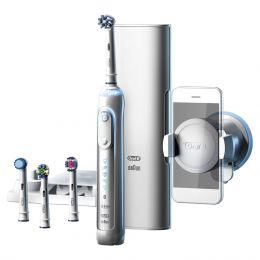 Электрическая зубная щетка Braun Oral-B Genius 9000 (белая) версия для врачей стоматологов