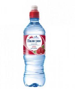 Доставка воды Пилигрим спорт-лок МАЛИНА 0,5 литра (1 уп./8 бут.)