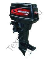 Zongshen T 40 FMS двухтактный подвесной лодочный мотор с двумя цилиндрами, объем двигателя 525 куб/см., дистанционное управление, ручной и электрический запуск двигателя. texnomoto.ru
