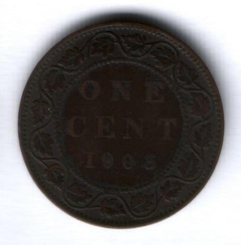 1 цент 1903 г. Канада