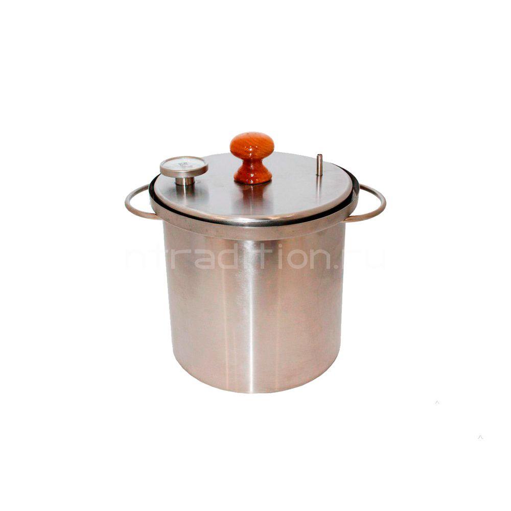 Домашняя коптильня Zolinger (Золингер) 10 л горячего копчения