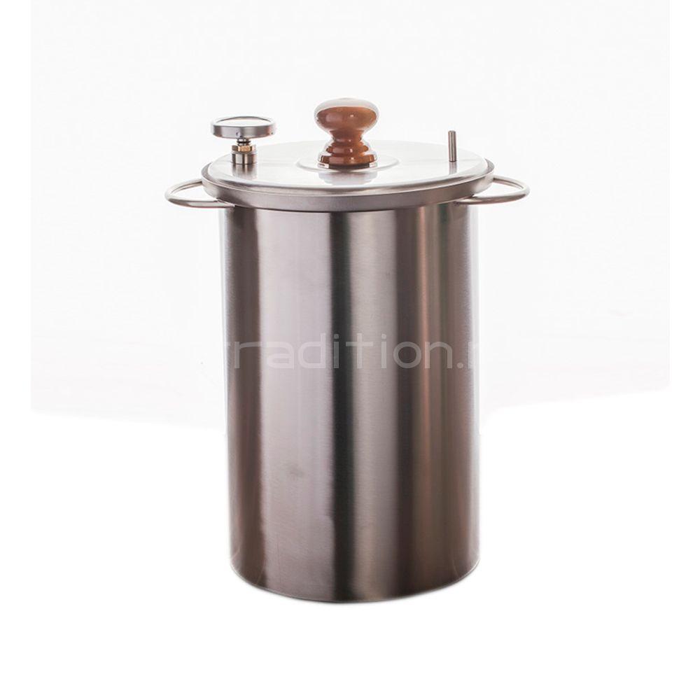 Домашняя коптильня с гидрозатвором Zolinger (Золингер) 20л горячего копчения