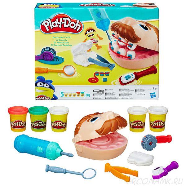 """Игровой набор Мистер """"Зубастик"""" Play-Doh"""