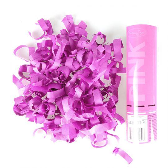 Стильная розовая пневмохлопушка