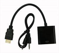 Адаптер HDMI(m)-VGA(f) c передачей аудио-сигнала