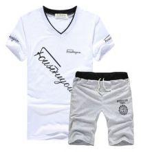 Летний мужской комплект шорты и футболка