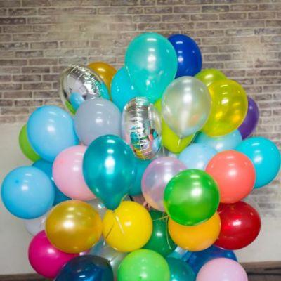 Латексные шары с гелием