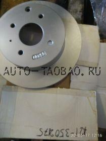 A21-3502075Диск тормозной задний FORA