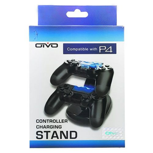 Зарядная станция для двух беспроводных джойстиков (PS 4 Charging Stand  Dual Controller) 2