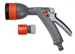 """Комплект: Пистолет для полива многофункциональный Classic + Коннектор стандартный 1/2"""""""