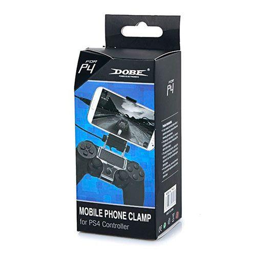 Крепление к джойстику для игры на телефоне (PS 4 Mobile Phone Clamp)