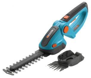Комплект: Ножницы для газонов и кустарников аккумуляторные ComfortCut с 2 ножами (для травы - 8 см, для кустарника - 18 см)