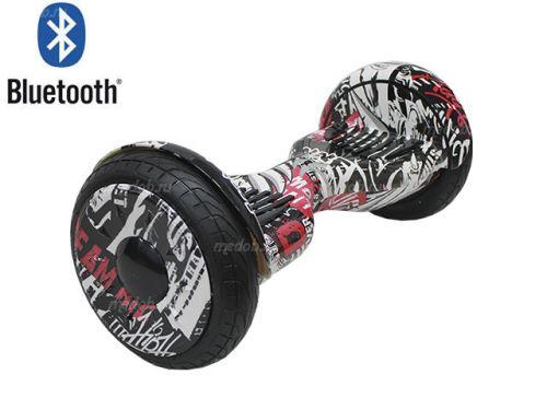 Гироскутер Smart Balance PRO PREMIUM 10.5 V1 (+AUTOBALANCE, + TAO TAO MOBILE APP) Черный граффити