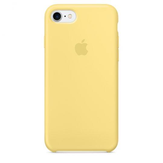 Silicone Case для iPhone 7,iPhone 8 (Жёлтая пыльца)