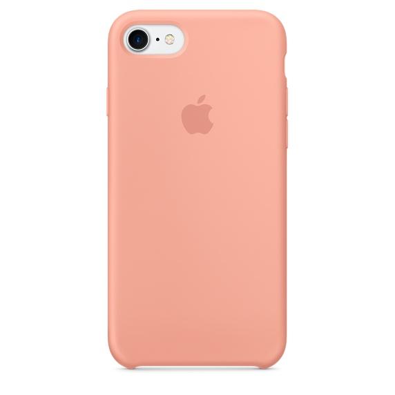 Silicone Case для iPhone 7,iPhone 8 (Розовый фламинго)