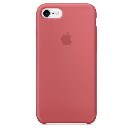 Silicone Case для iPhone 7,iPhone 8 (Розовая камелия)