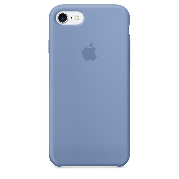 Silicone Case для iPhone 7,iPhone 8 (Лазурный )