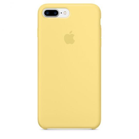 Silicone Case для iPhone 7+,iPhone 8+ (Жёлтая пыльца)