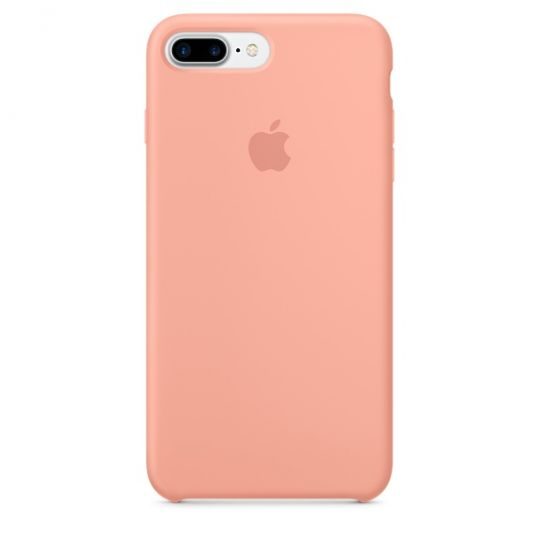 Silicone Case для iPhone 7+,iPhone 8+ (Розовый фламинго)