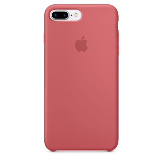 Silicone Case для iPhone 7+,iPhone 8+ (Розовая камелия)