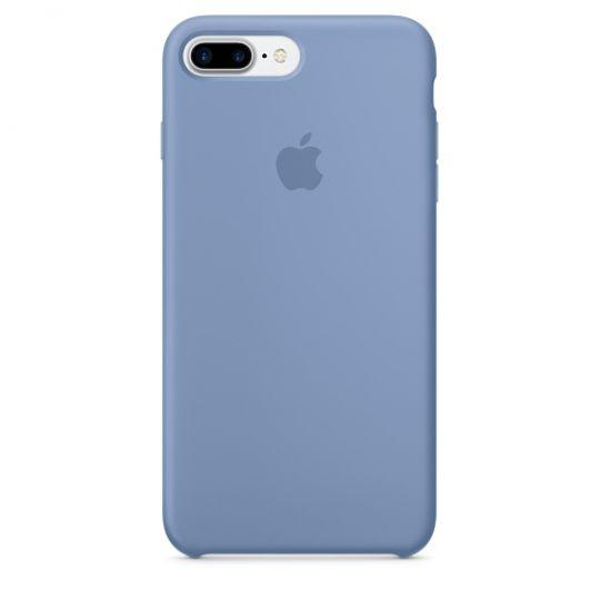 Silicone Case для iPhone 7+,iPhone 8+ (Лазурный)