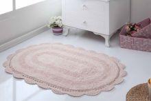 Коврик для ванной кружевной DIANA 50x80 (пудра) Арт.5086-5