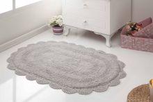 Коврик для ванной кружевной DIANA 50x80 (стоне) Арт.5086-7