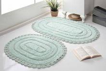 Комплект ковриков для ванной YANA 60x100 + 50x70 (ментол) Арт.5026-3