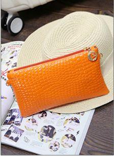 Косметичка с ремешком GLOSS оранжевая