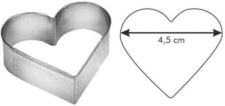 Формочка сердце DELICIA Tescoma 631016