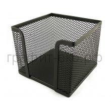 Подставка для бумаг ErichKrause металл.сетчатая черная 22505
