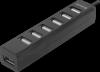 Универсальный USB разветвитель Quadro Swift USB2.0, 7 портов