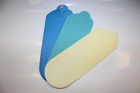 Тапочки вьетнамки, 3 мм, цветные, 25 пар