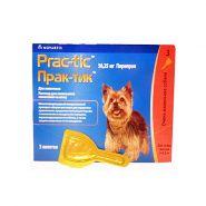 Prac-tic Капли от блох и клещей для собак (2-4,5 кг)