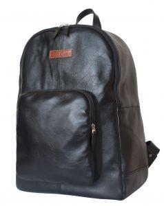 Кожаный рюкзак Frontino black
