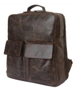 Кожаный рюкзак Terenzo brown