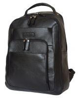 Кожаный рюкзак Monfestino black