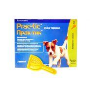 Prac-tic Капли от блох и клещей для собак (4,5-11 кг)