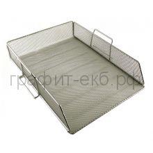 Поддон горизонтальный серый/сетчатый ErichKrause 22518