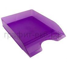 Поддон горизонтальный прозрачный фиолет.Durable TRAY BASIC 701673992