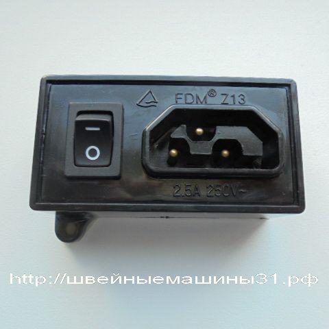 Блок входа электропитания и включения/выключения TOYOTA 354,355     цена 1500 руб.