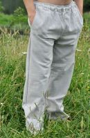 Летние прямые мужские штаны из Индии. Органический хлопок. Интернет магазин, купить в Санкт-Петербурге