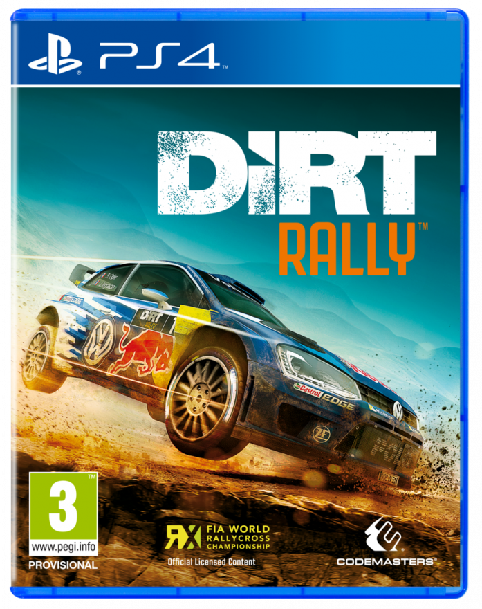 Игра Dirt Rally (PS4)