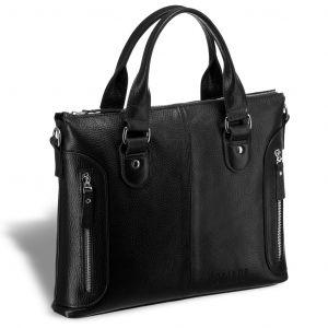 Деловая сумка малого формата BRIALDI Abetone (Абетоне) relief black