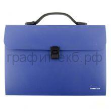 Портфель А4 12 отд.Comix синий 018F412T