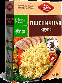 Агромастер Пшеничная крупа Полтавская ВП ГОСТ (80гр*5) 400гр*6