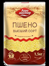 Агромастер Пшено в/с ГОСТ 1500гр*8