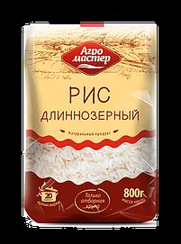 Агромастер Рис длиннозерный в/с 800гр*10